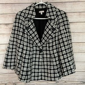 Ingenuity | Plaid Blazer